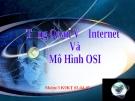 Tổng quan về Internet và Mô hình OSI