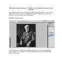 Hướng dẫn sử dụng Photoshop CS5 - Phần 11: Thay đổi màu sắc từ những bức ảnh đen trắng