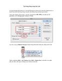 Hướng dẫn sử dụng Photoshop CS5 - Phần 28
