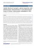 Gardelis et al. Nanoscale Research Letters 2011, 6:227