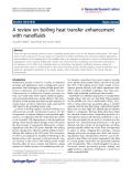 "Báo cáo hóa học: ""A review on boiling heat transfer enhancement with nanofluids"""