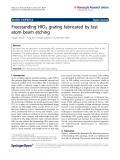 Wang et al. Nanoscale Research Letters 2011, 6:367