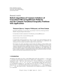 Hindawi Publishing Corporation Fixed Point Theory and Applications Volume 2011, Article ID 971479,