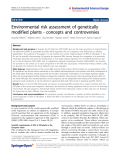 """Báo cáo hóa học: """" Environmental risk assessment of genetically modified plants - concepts and controversies"""""""