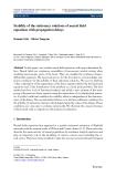 Journal of Mathematical Neuroscience (2011) 1:1 DOI 10.1186/2190-8567-1-1 RESEARCH Open
