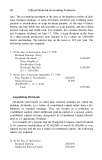 Critical Financial Accounting Problems Issues and Solutions_2