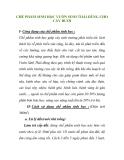 CHẾ PHẨM SINH HỌC VƯỜN SINH THÁI DÙNG CHO CÂY BƯỞI