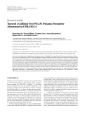 """Báo cáo hóa học: """"   Research Article Towards a Collision-Free WLAN: Dynamic Parameter Adjustment in CSMA/E2CA"""""""