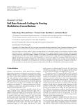 "Báo cáo hóa học: "" Research Article Full Rate Network Coding via Nesting Modulation Constellations"""
