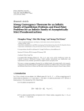 """Báo cáo hóa học: """" Research Article Strong Convergence Theorems for an Infinite Family of Equilibrium Problems and Fixed Point Problems for an Infinite Family of Asymptotically Strict Pseudocontractions"""""""