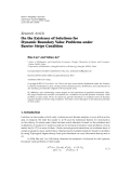 "Báo cáo hóa học: ""  Research Article On the Existence of Solutions for Dynamic Boundary Value Problems under Barrier Strips Condition"""