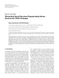"Báo cáo hóa học: ""  Research Article Hierarchical Spread Spectrum Fingerprinting Scheme Based on the CDMA Technique Minoru Kuribayashi (EURASIP Member)"""