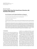 "Báo cáo hóa học: ""  Research Article Constant False Alarm Rate Sound Source Detection with Distributed Microphones"""