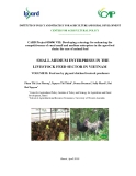 "Báo cáo khoa học nông nghiệp "" SMALL-MEDIUM ENTERPRISES IN THE LIVESTOCK FEED SECTOR IN VIETNAM ( VOLUME II)"""
