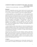 "Báo cáo khoa học nông nghiệp "" COMMUNITY FOREST MANAGEMENT IN HOA BINH - SOLUTIONS """
