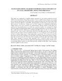 "Báo cáo khoa học nông nghiệp "" MANGO EXPANDING YEAR-ROUND PRODUCTION TOWARD GAP IN CAO LANH DISTRIC, DONG THAP PROVINCE """