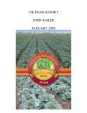 """Báo cáo khoa học nông nghiệp """" Chất lượng cải bắp tiêu chuẩn Autralia - GAP"""""""
