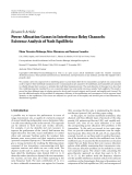 Báo cáo: Power Allocation Games in Interference Relay Channels: Existence Analysis of Nash Equilibria