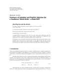 Hindawi Publishing Corporation Fixed Point Theory and Applications Volume 2010, Article ID 126192, 8