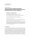 Hindawi Publishing Corporation Fixed Point Theory and Applications Volume 2011, Article ID 689478,