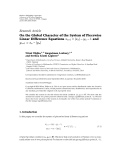 Hindawi Publishing Corporation Advances in Difference Equations Volume 2010, Article ID 573281, 14