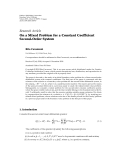 Hindawi Publishing Corporation Boundary Value Problems Volume 2010, Article ID 526917, 11 pages