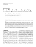 Báo cáo: Contextual Information and Covariance Descriptors for People Surveillance: An Application for Safety of Construction Workers