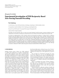 Báo cáo: Experimental Investigation of TDD Reciprocity-Based Zero-Forcing Transmit Precoding
