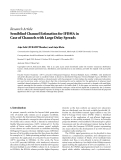 Báo cáo: Semiblind Channel Estimation for IFDMA in Case of Channels with Large Delay Spreads