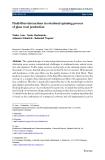 Journal of Mathematics in Industry (2011) 1:2 DOI 10.1186/2190-5983-1-2 R E S E R AC H Open