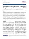 Kolvenbach et al. AMB Express 2011, 1:8 http://www.amb-express.com/content/1/1/8  ORIGINAL  Open