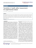 Schmidt and Stolpe Health Economics Review 2011, 1:12