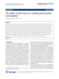 Azagba and Sharaf Health Economics Review 2011, 1:15