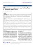 Marschall and Flessa Health Economics Review 2011, 1:5