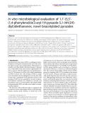 Kanagarajan et al. Organic and Medicinal Chemistry Letters 2011, 1:8