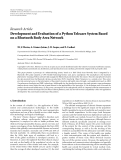 """Báo cáo hóa học: """" Research Article Development and Evaluation of a Python Telecare System Based on a Bluetooth Body Area Network"""""""