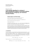 """Báo cáo hóa học: """" Research Article A New Hybrid Algorithm for a System of Mixed Equilibrium Problems, Fixed Point Problems for Nonexpansive Semigroup, and Variational Inclusion Problem"""""""