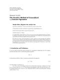 "Báo cáo hóa học: ""  Research Article The Iterative Method of Generalized u0 -Concave Operators"""