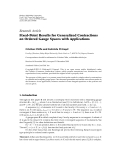 """Báo cáo hóa học: """"  Research Article Fixed-Point Results for Generalized Contractions on Ordered Gauge Spaces with Applications"""""""