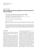 "Báo cáo hóa học: ""  Research Article Three Novell Analog-Domain Algorithms for Motion Detection in Video Surveillance Arnaud Verdant,1 Patrick Villard,1 Antoine Dupret,2 and Herv´ Mathias3 e"""