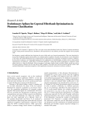 """Báo cáo hóa học: """"  Research Article Evolutionary Splines for Cepstral Filterbank Optimization in Phoneme Classification"""""""