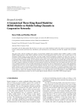 "Báo cáo hóa học: ""  Research Article A Geometrical Three-Ring-Based Model for MIMO Mobile-to-Mobile Fading Channels in """