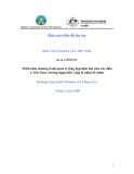 """Báo cáo tiến độ dự án:"""" Triển khai chương trình quản lý tổng hợp dịch hại trên cây điều ở Việt Nam với ứng dụng kiến vàng là nhân tố chính """""""