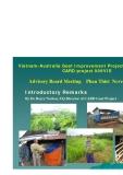Vietnam-Australia Goat Improvement Project (2006-2009)