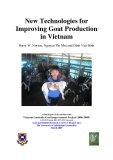 New Technologies for Improving Goat Production in Vietnam