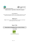 Báo cáo: Collaboration for Agriculture & Rural Development: Field evaluation and advanced vegetative mass-propagation technology for scaling up high-value plantations of Pinus caribaea and related hybrids in Vietnam (Milestone 9)