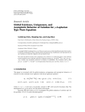 """Báo cáo hóa học: """"  Research Article Global Existence, Uniqueness, and Asymptotic Behavior of Solution for p-Laplacian Type Wave Equation"""""""