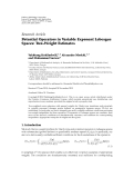 "Báo cáo hóa học: ""  Research Article Potential Operators in Variable Exponent Lebesgue Spaces: Two-Weight Estimates"""