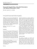 "Báo cáo hóa học: ""   Porous-ZnO-Nanobelt Film as Recyclable Photocatalysts with Enhanced Photocatalytic Activity"""