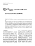 """Báo cáo hóa học: """"  Research Article Efficient Compensation of Transmitter and Receiver IQ Imbalance in OFDM Systems"""""""